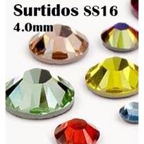 Cristal Ss16 4mm 1400pcs Elige Colores Piedra Para Ropa
