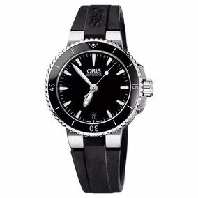 Reloj Oris Aquis Date Lady 73376524154 Tienda Oficial