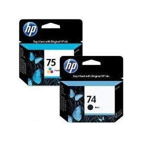 Cartuchos Hp 74 Y 75 Original Nuevo 100% Garantizados