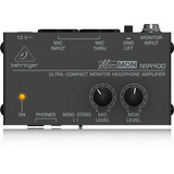 Amplificador Para Audifonosbehringer P/audifonos Ma400