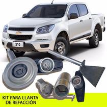 Kit Seguridad Llanta De Refacción Gm S10 Promoción Enero!