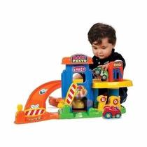 Posto De Gasolina Lava Rapido Infantil Crianca Bebe 4 Carro