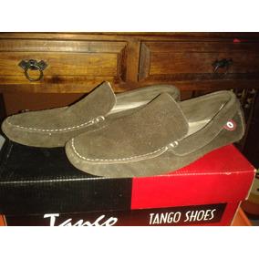 Zapatos Casuales Para Caballero De Gamusa Color Cafe