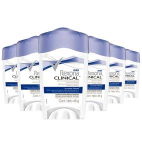 6 Desodorantes Rexona Clinical Stilk Masculino 48g