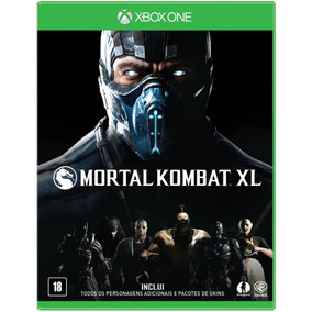 Mortal Kombat Xl - Xbox One - Mídia Física - Original Novo