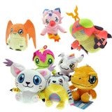 Digimon - Mini Peluches - 7 Personajes