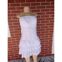 Vestido Tomara Que Cai Tecido Em Leze