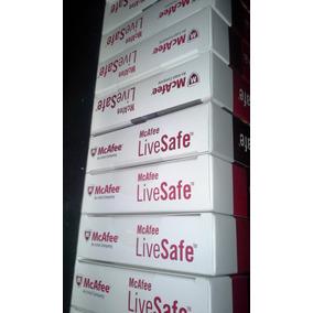 Antivirus Mcafee Live Safe Caja Sellada Original