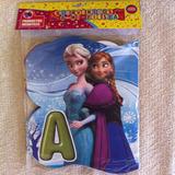 Cartel Letrero De Bienvenidos A Mi Fiesta De Frozen