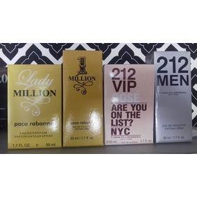 2 Perfumes 50ml - Replicas + Grátis 1 Deo Colonia 100ml