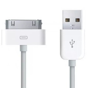 Cabo Usb Dados Ipod Ipad 2 / 3 Iphone 2g / 3g / 4 / 4s