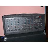 Mixer Consola Fender 520w Potenciada ( Made In Usa ) 8 Canal