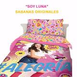 Sábanas Infantiles Soy Luna - Originales - Marca Piñata