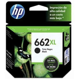 Cartucho Impresora Hp 662 Negro Nuevo Original