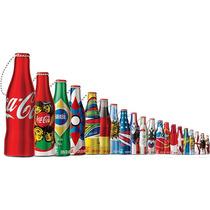 Garrafinhas Colecionáveis Copa Coca Cola 2014