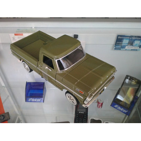 Camioneta For F 100 A Scala 1:24 Nueva Verde Color Original