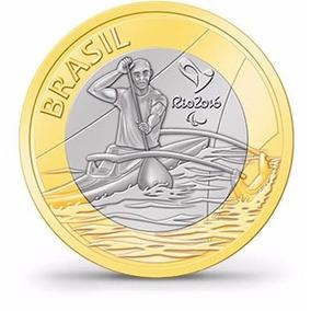 Moedas Olimpíadas 2016- Paracanoagem