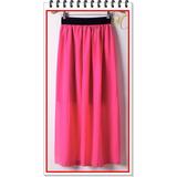 Remate Hermosas Faldas Largas Juveniles De Moda Para Mujer