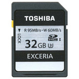 Memoria Toshiba Sdhc 32gb 95 Mb/s Clas 10 U3 4k Tipo Extreme