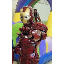 Iron Man Disfraz Botarga Armadura
