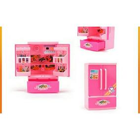 Mini Geladeira P D Bonecas Lol Surprise Chelsea Kelly Barbie