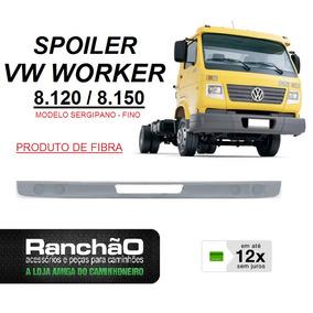 Spoiler Parachoque Caminhão Vw Worker 8.120 8.150 Fino