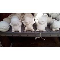 Alcancias De Yeso Ceramico Pökemon Päquete Recuerdos