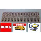 Borracha Teclado Korg Pa-3x Original Frete Grátis Promoção