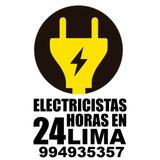 Iluminarias Emergencias Electricas 24hs En Miraflores Casas