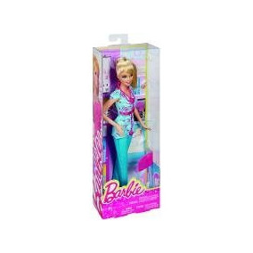 Bdt23 Barbie Quero Ser Enfermeira / Mattel