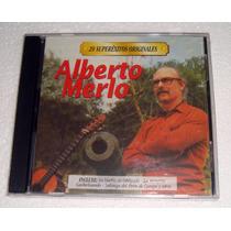 Alberto Merlo 20 Superexitos Originales Cd Sellado