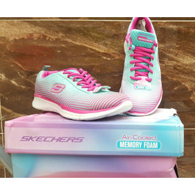 Tenis, Zapatillas,skechers Air-cooled Memory Foam Mujer