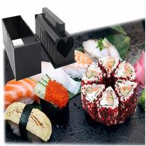 Kit Sushi Maker Formas Diferenciadas Com Faca Frete Gratis