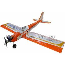 Aeromodelo Calmax 100cm Asa Baixa Em Balsa - Kit Para Montar
