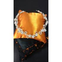 Arranjo Coroa Tiara Noiva Casamento Grinalda