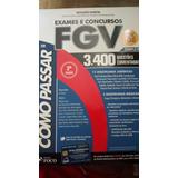 Exames E Concursos Fgv 3.400 Questões Comentadas