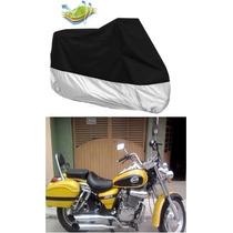 Cubierta Funda Protectora Tapa Moto Chopper Dinamo Custom