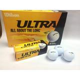 Pelota De Golf Wilson Ultra Paquete De 3