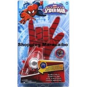 Guante De Spiderman Y Iron Man Lanza Tazos Tienda Fisica