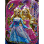Mochila Rodinha 3d Boneca Barbie Princesa Alto Relevo Grande