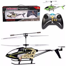 Mini Helicoptero Fênix Controle Remoto + 3 Canais Com Gyro