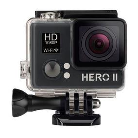 Filmadora Midipro Hero Ii 5mp   1080p + Wi-fi   Frete Grátis