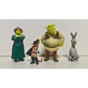 Boneco Shrek Princesa Fiona Burro Gato De Botas