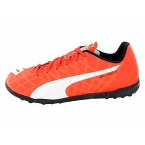 Zapatos Tenis Evospeed Puma Color Naranja Fosforescente