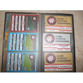 Ingresso Da Partida Da Final 2001 Atletico Pr E São Caetano