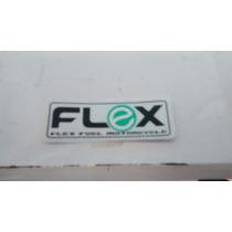 Adesivo Flex Fuel Motorcycle Para Moto Fan Titan Biz