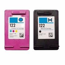 Cartucho 122 Preto E 122 Colorido 15ml Impressora 3050