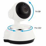 Camara Ip Hd Wifi Robotizada Audio Vis Noct Alarma P2p