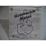 Three Souls Renovacion Moral 1983 Lp Rock Mexicano Coleccion