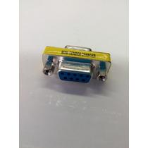 Adaptador / Emenda Serial Db9 Femea X Femea 9 Pinos Rs232